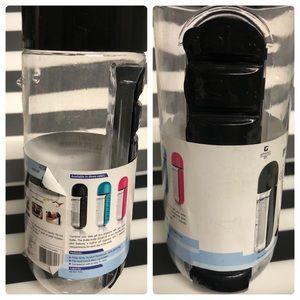 NEW 2-in-1 pill planner water bottle BPA free